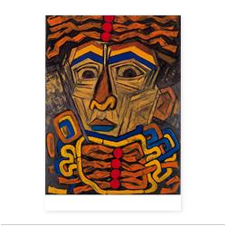 海老原喜之助「男の顔」