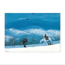海老原喜之助「雪景」