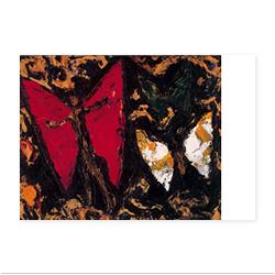 海老原喜之助「海浜の蝶」