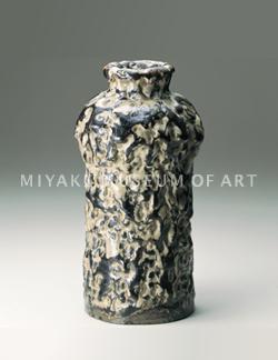 どんこ釉花瓶