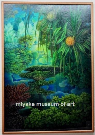 杜(地と海とⅡ)2000年 油彩・カンヴァス・P100号 第76回白日展 初出品・初入選