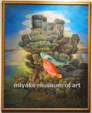南海魚と珊瑚の塔Ⅰ